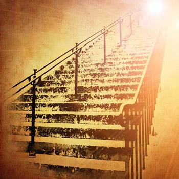 uthentic Counseling blog image of stairs